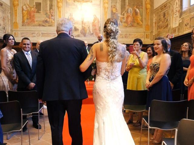 Il matrimonio di Federico e Ilenia a Gubbio, Perugia 7