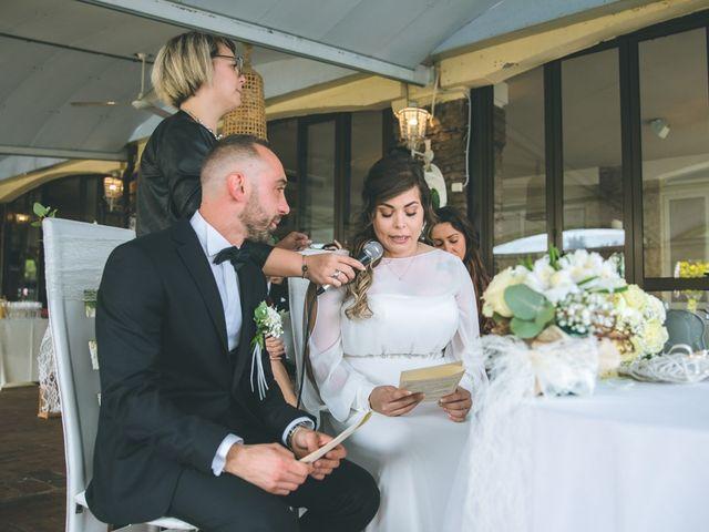 Il matrimonio di Valerio e Francesca a Arcore, Monza e Brianza 86