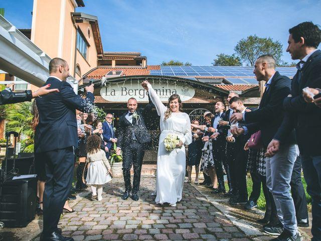 Il matrimonio di Valerio e Francesca a Arcore, Monza e Brianza 125
