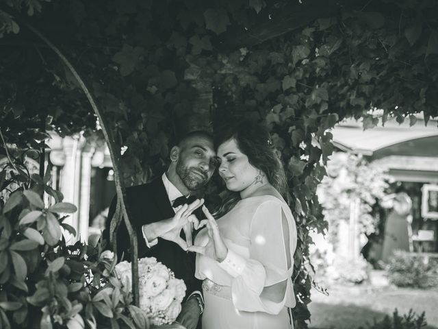 Il matrimonio di Valerio e Francesca a Arcore, Monza e Brianza 238