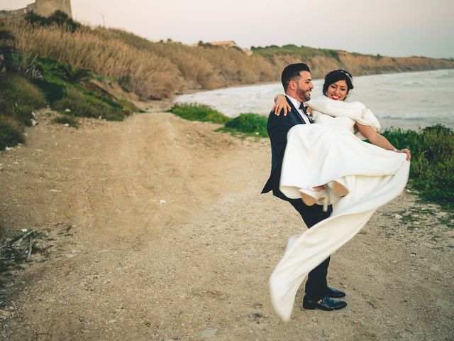Il matrimonio di Silvia e Salvuccio a Licata, Agrigento 43