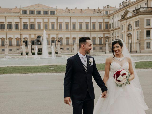 Il matrimonio di Fabio e Maria a Desio, Monza e Brianza 69