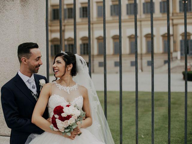 Il matrimonio di Fabio e Maria a Desio, Monza e Brianza 70