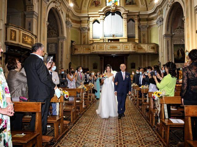 Il matrimonio di Samuele e Anita a Brivio, Lecco 15
