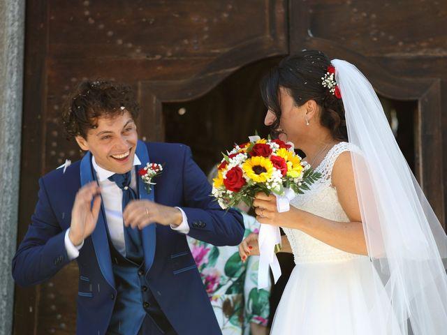 Il matrimonio di Samuele e Anita a Brivio, Lecco 23