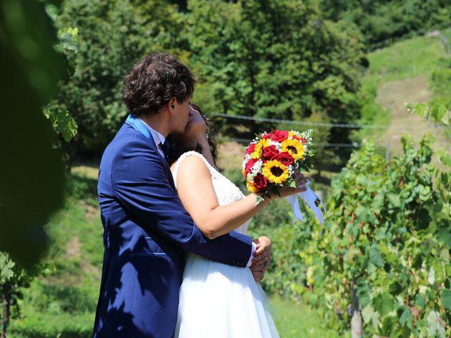 Il matrimonio di Samuele e Anita a Brivio, Lecco 33