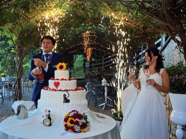 Il matrimonio di Samuele e Anita a Brivio, Lecco 46