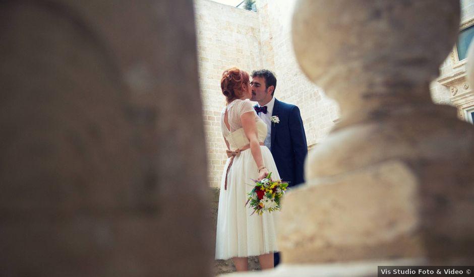 Il matrimonio di Luca e Simona a Francavilla Fontana, Brindisi