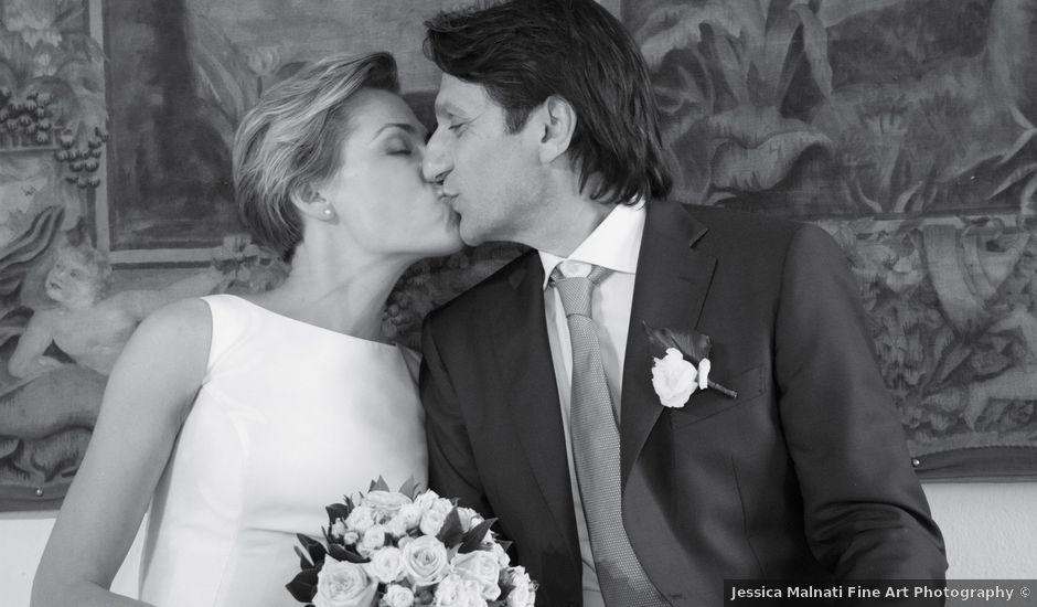 Il matrimonio di Angelo e Daiva a Varano Borghi, Varese