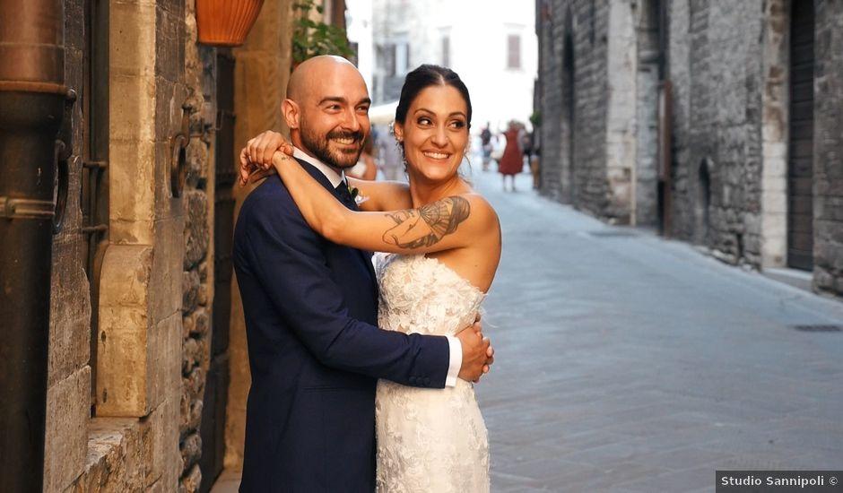Il matrimonio di Federico e Ilenia a Gubbio, Perugia