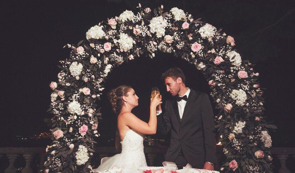 Il matrimonio di Elena e Andrea a Castel Gandolfo, Roma