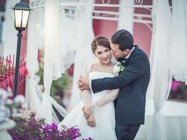 le nozze di Gabriella e Salvatore