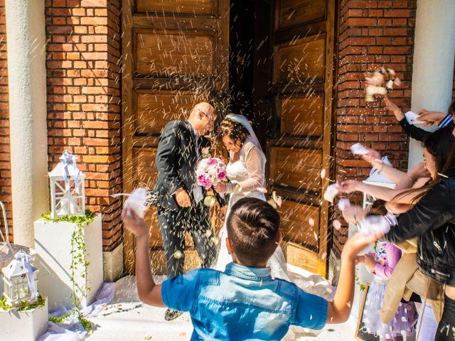 Le nozze di Romina e Francesco