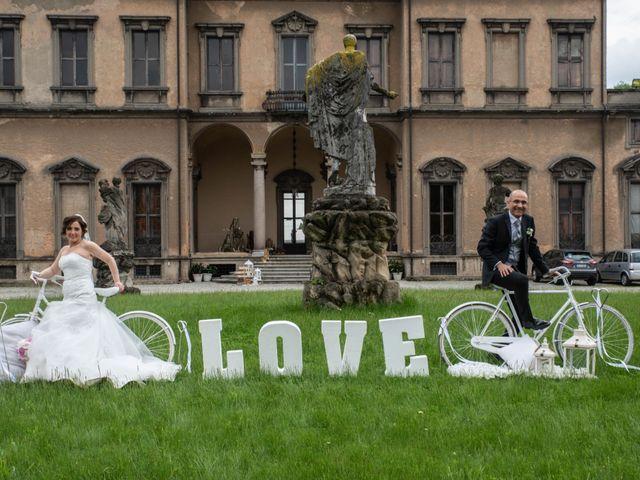 Il matrimonio di Francesco e Romina a Varedo, Monza e Brianza 91