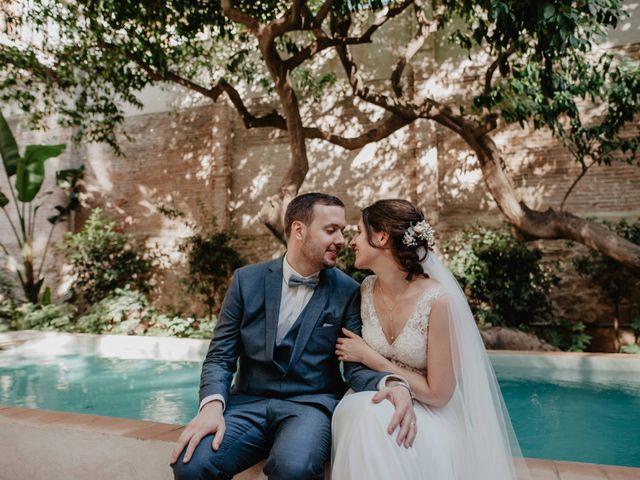 Le nozze di Ann-Katrin e Xavier