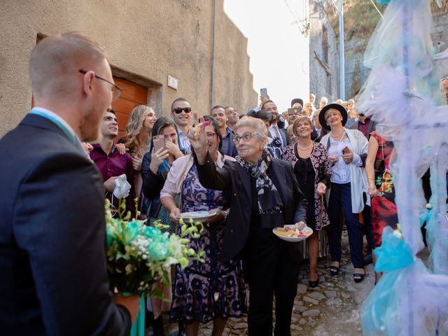 Il matrimonio di Ian e Giuliana a Santu Lussurgiu, Oristano 28