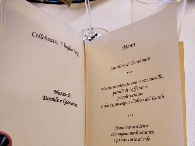 Il matrimonio di Davide e Giovanna a Collebeato, Brescia 29