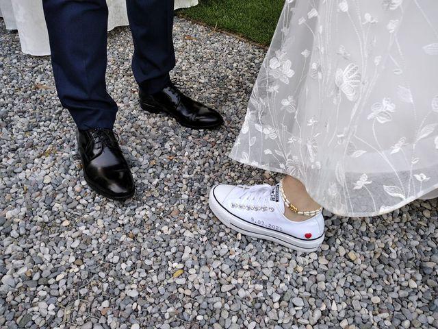 Il matrimonio di Davide e Giovanna a Collebeato, Brescia 31