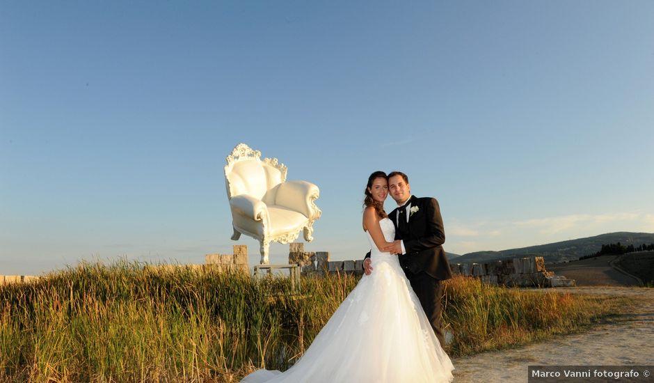 Il matrimonio di Marco e Alessandra a Lari, Pisa