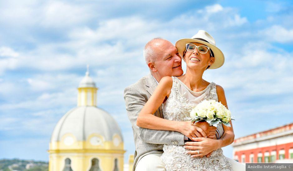 Il matrimonio di Roberto e Mariangela a Procida, Napoli
