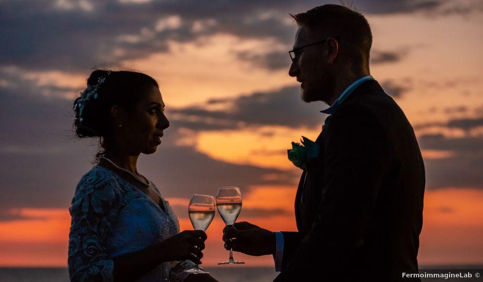 Il matrimonio di Ian e Giuliana a Santu Lussurgiu, Oristano