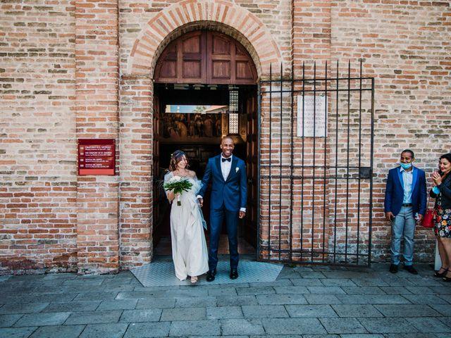 Il matrimonio di Julio e Elisa a Saccolongo, Padova 32