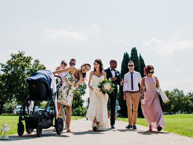 Il matrimonio di Julio e Elisa a Saccolongo, Padova 37