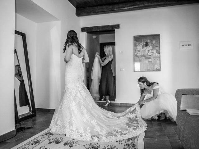 Il matrimonio di Robert e Danielle a Torgiano, Perugia 5