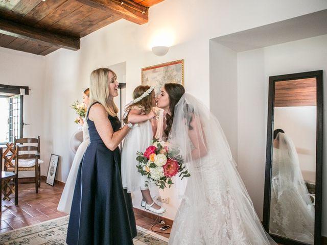Il matrimonio di Robert e Danielle a Torgiano, Perugia 7