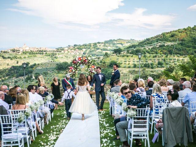 Il matrimonio di Robert e Danielle a Torgiano, Perugia 10