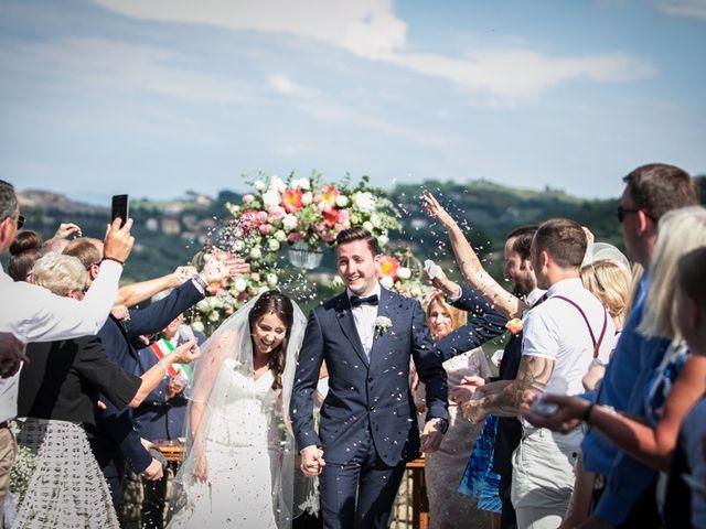 Il matrimonio di Robert e Danielle a Torgiano, Perugia 18