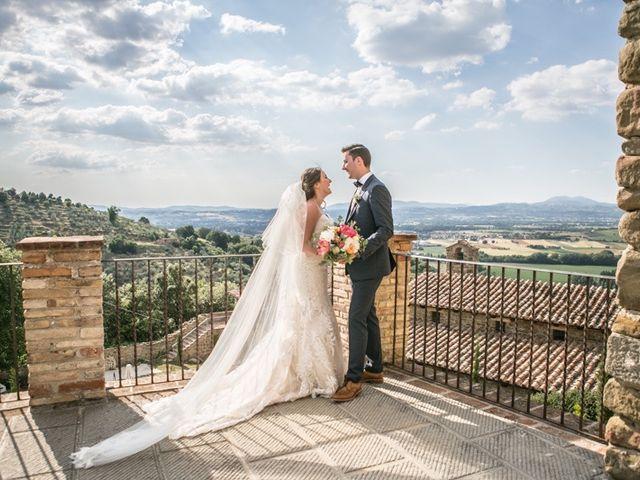 Il matrimonio di Robert e Danielle a Torgiano, Perugia 25