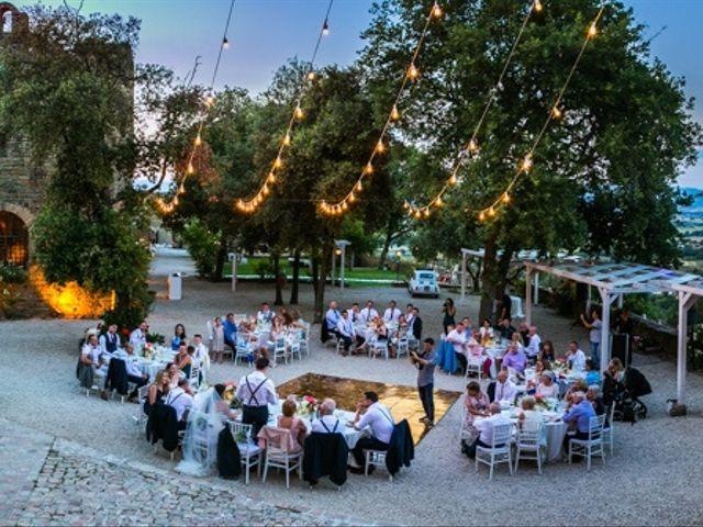 Il matrimonio di Robert e Danielle a Torgiano, Perugia 1
