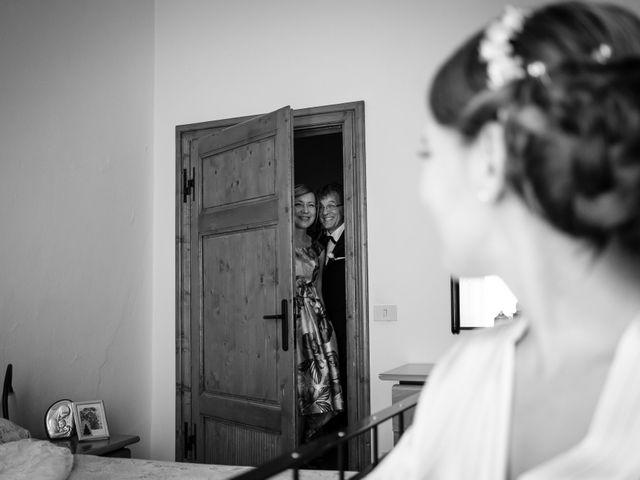 Il matrimonio di Nico e Diletta a Sinalunga, Siena 20