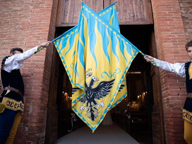 Il matrimonio di Nico e Diletta a Sinalunga, Siena 40