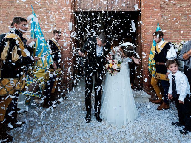 Il matrimonio di Nico e Diletta a Sinalunga, Siena 41