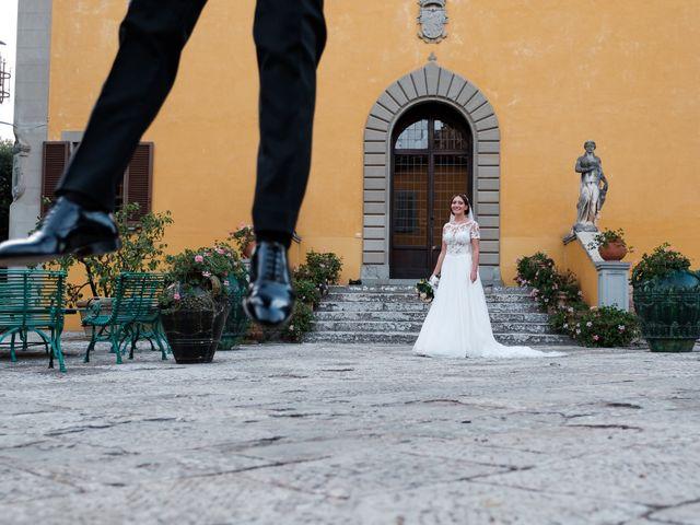 Il matrimonio di Nico e Diletta a Sinalunga, Siena 52