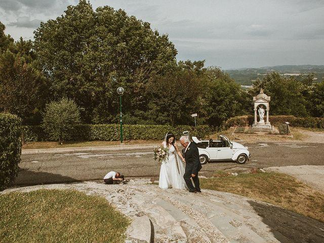 Il matrimonio di Vlad e Delis a Città di Castello, Perugia 48