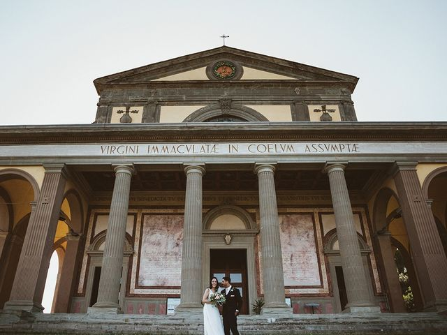 Il matrimonio di Vlad e Delis a Città di Castello, Perugia 73