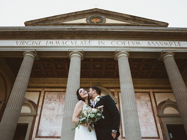 Il matrimonio di Vlad e Delis a Città di Castello, Perugia 74
