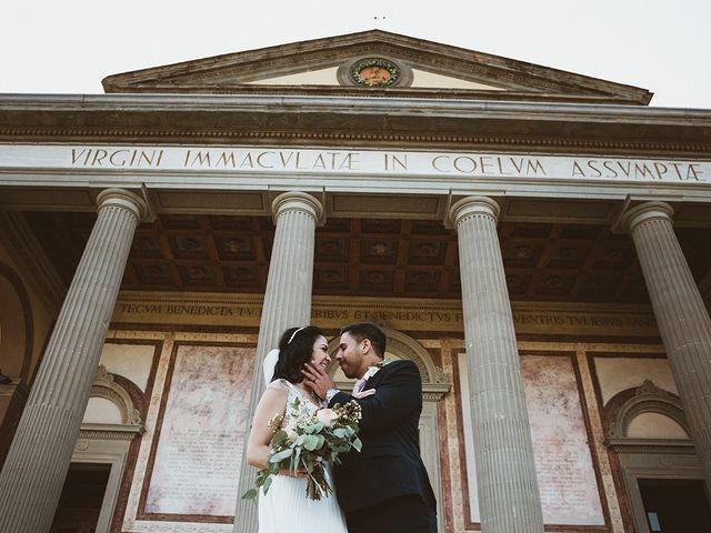 Il matrimonio di Vlad e Delis a Città di Castello, Perugia 75