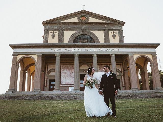 Il matrimonio di Vlad e Delis a Città di Castello, Perugia 78