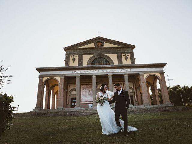 Il matrimonio di Vlad e Delis a Città di Castello, Perugia 79