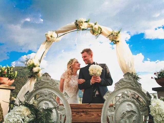 le nozze di Sara e Mattia