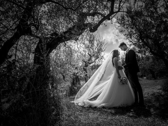Il matrimonio di Cristiano e Angela a Torgiano, Perugia 25