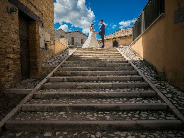 Il matrimonio di Cristiano e Angela a Torgiano, Perugia 27