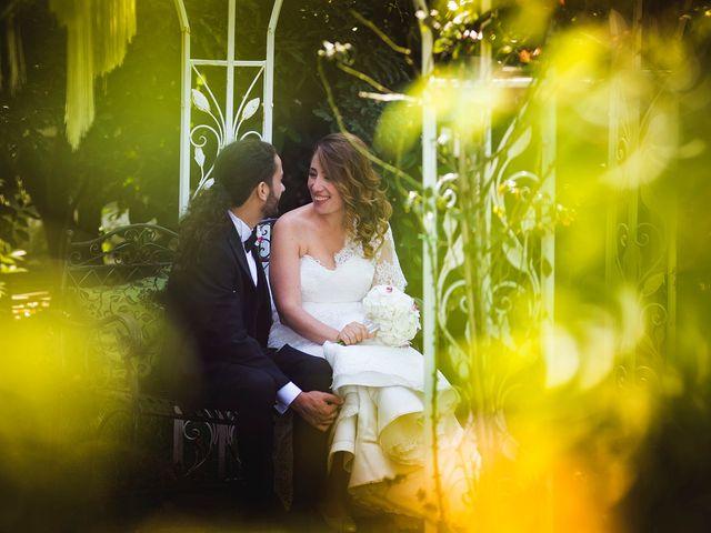 le nozze di Carolina e Davide