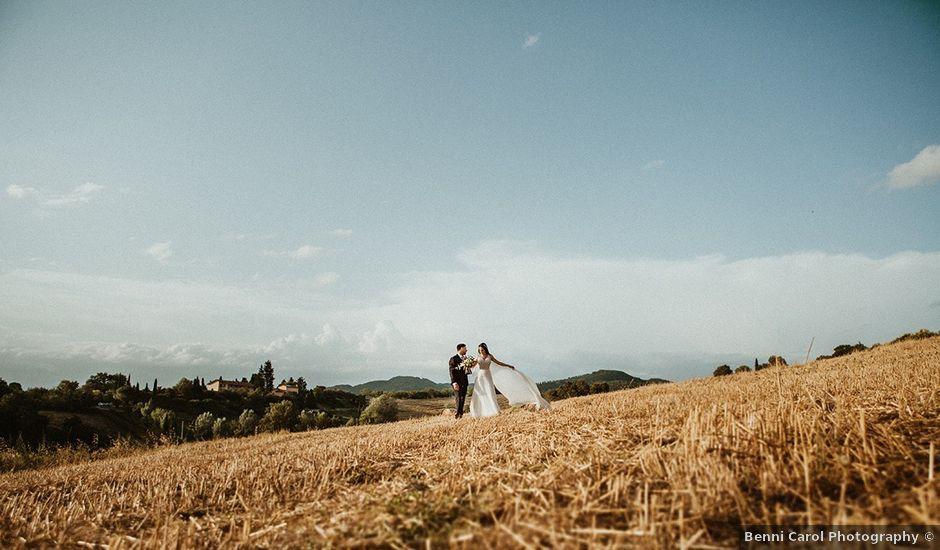 Il matrimonio di Vlad e Delis a Città di Castello, Perugia