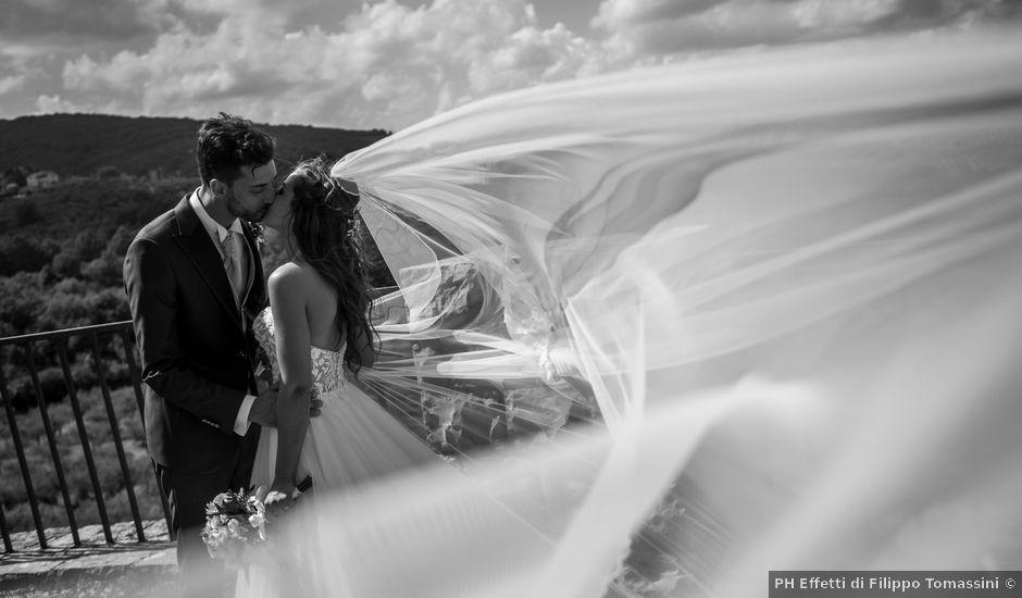 Il matrimonio di Cristiano e Angela a Torgiano, Perugia