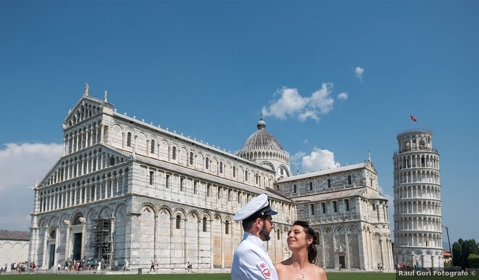 Il matrimonio di Gabriele e Valentina a Pisa, Pisa